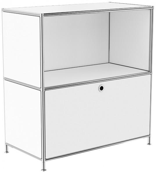 Sideboard System4 78 X 81 X 40 Cm 1 Klapptur 1 Fach Inklusive